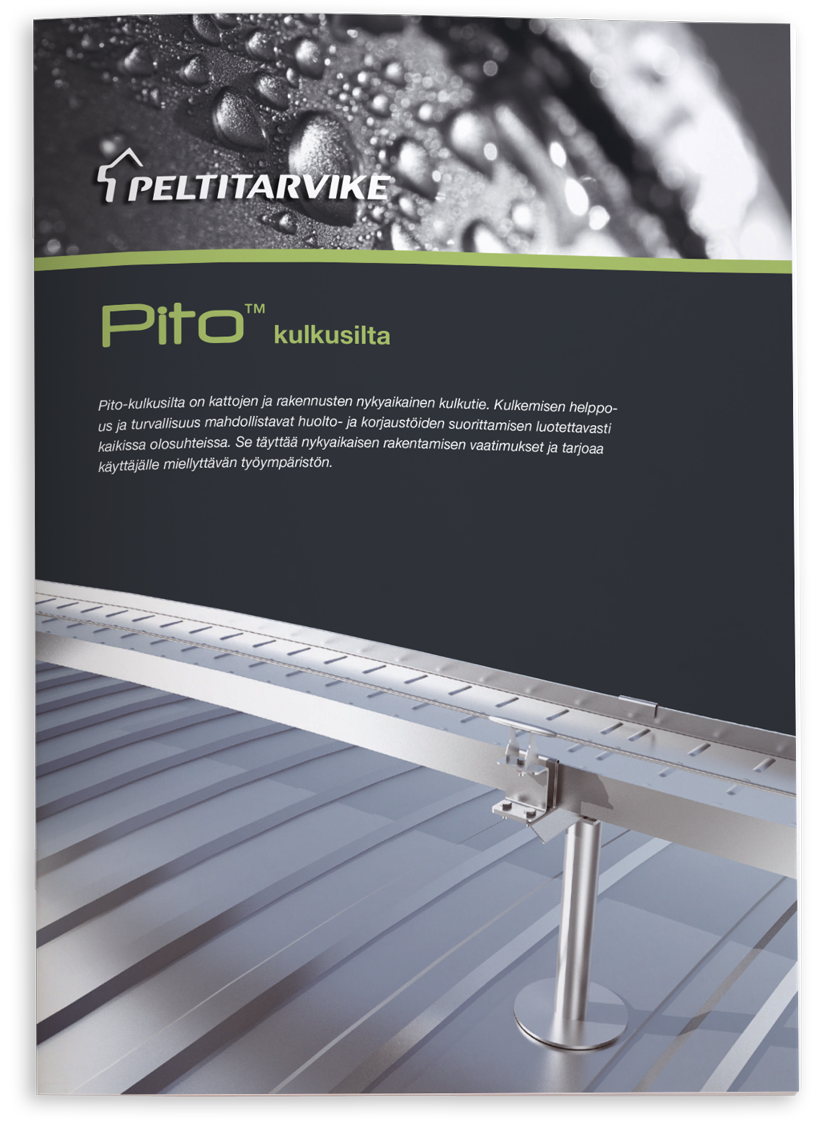 Peltitarvike - Pito-kulkusilta esite